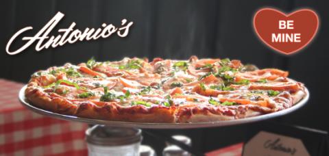Antonio's Pizzeria Facebook Header - Be Mine