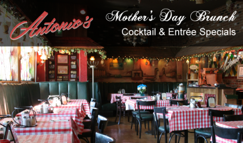 Antonio's Mother's Day Brunch Specials - campaign by Charles Creative