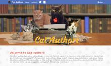 Cat Authors - Banner Design