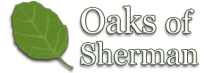 Oaks of Sherman Logo